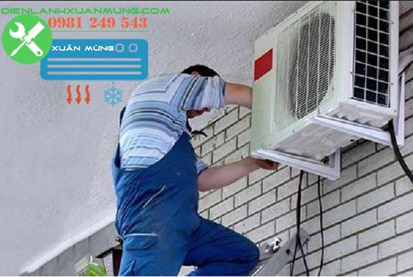 sửa điều hòa bị rò gas