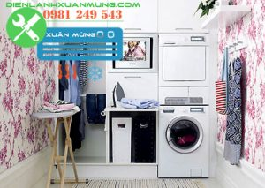 những lưu ý khi sử dụng máy giặt tại nhà